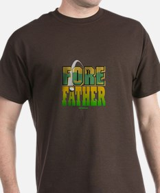 Fore Father Dad Golfer T-Shirt