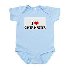 I HEART CHIRNSIDE  Infant Creeper