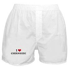 I HEART CHIRNSIDE  Boxer Shorts