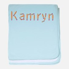 Kamryn Pencils baby blanket