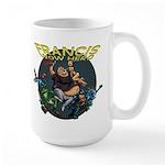 Francis - Wow Hero (Round Background) Large Mug