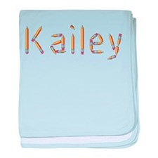 Kailey Pencils baby blanket