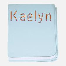 Kaelyn Pencils baby blanket