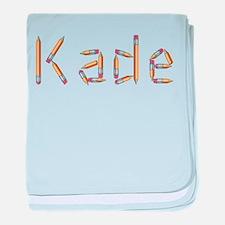 Kade Pencils baby blanket
