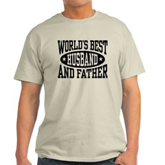 Best Husband and Father Light T-Shirt