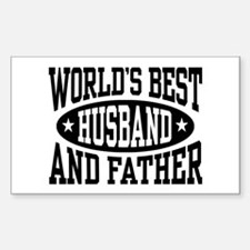 Best Husband and Father Decal