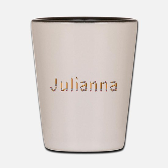 Julianna Pencils Shot Glass