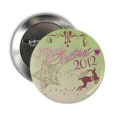 """star reindeer 2.25"""" Button (100 pack)"""