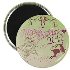 star reindeer Magnet