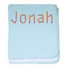 Jonah Pencils baby blanket