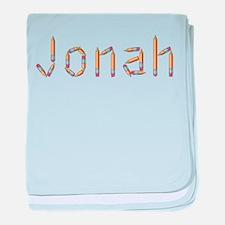 Jonah Pencils baby blanket