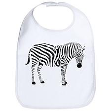 Zebra Bib