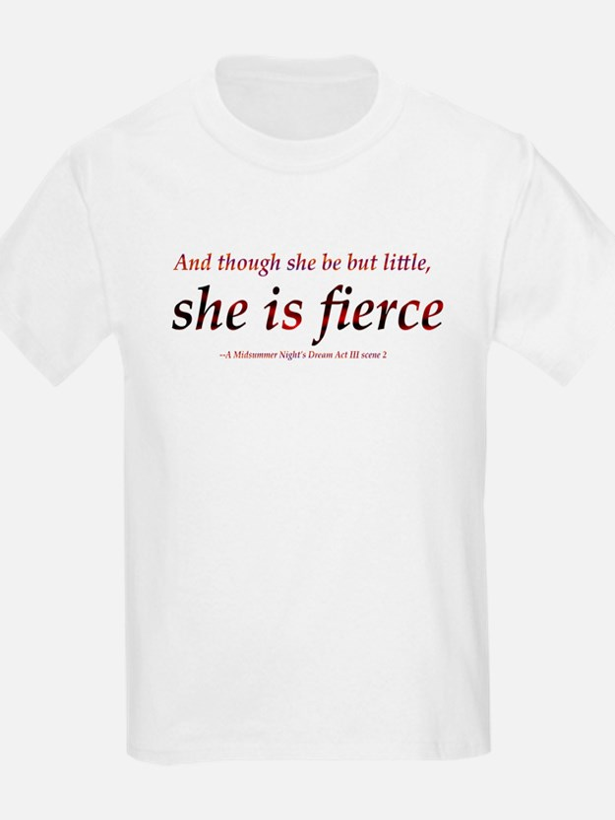 Fierce Shakespeare T-Shirt