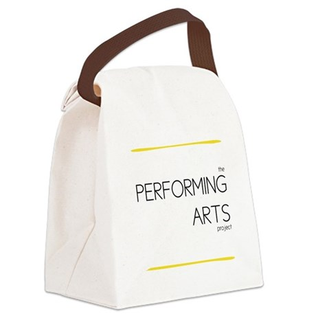 Performing Arts Project Logo Canvas Lunch Bag