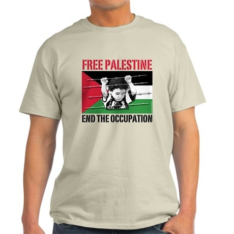 free palestine WHT T-Shirt