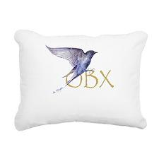 OBX purple martin Rectangular Canvas Pillow