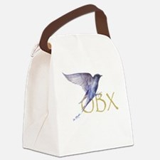 OBX purple martin Canvas Lunch Bag