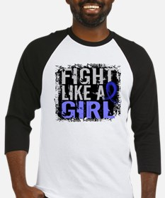 Licensed Fight Like a Girl 31.8 Co Baseball Jersey