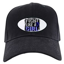 Fight Like a Girl 31.8 Colon Cancer Baseball Hat
