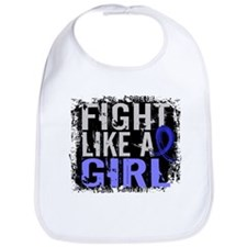 Fight Like a Girl 31.8 Colon Cancer Bib