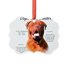 Cute Dogue de bordeaux Ornament