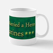 My Daughter Married a Hero Marine Mug