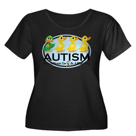 Autism Ugly Duckling Plus Size T-Shirt