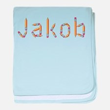 Jakob Pencils baby blanket