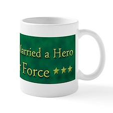 My Daughter Married A Hero Air Force Mug