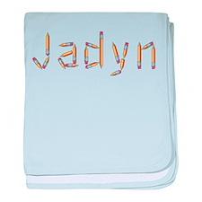 Jadyn Pencils baby blanket