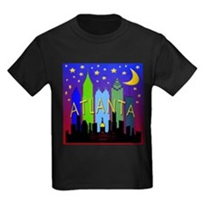 Atlanta Skyline nightlife T