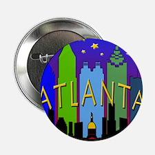 "Atlanta Skyline nightlife 2.25"" Button"