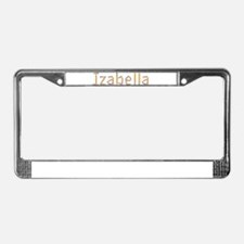 Izabella Pencils License Plate Frame