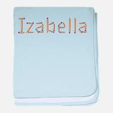 Izabella Pencils baby blanket