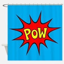 POW! Shower Curtain