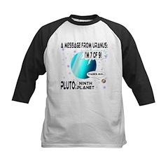 Message from Uranus Kids Baseball Jersey