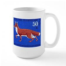 1967 Germany Fox Postage Stamp Mug