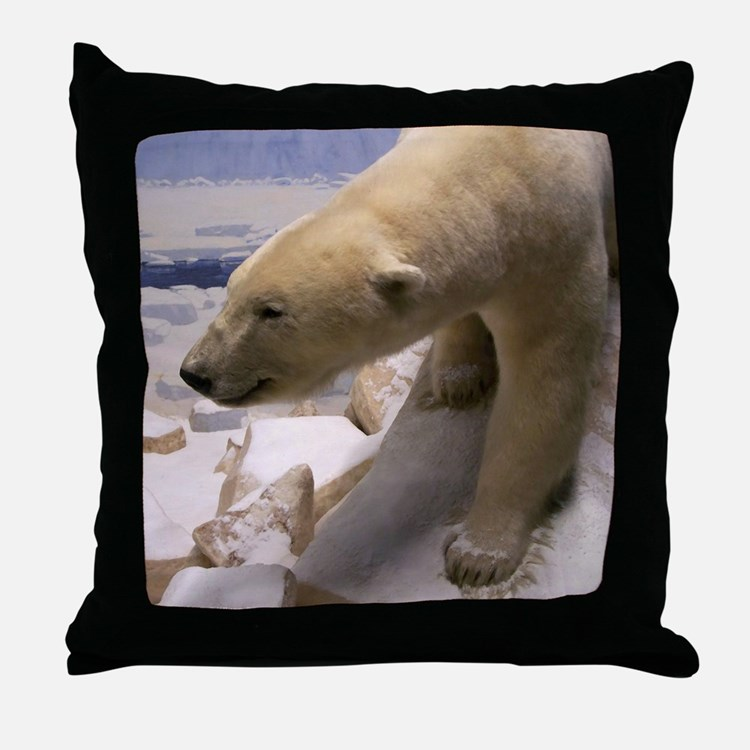 Polar Bear (Throw Pillow)