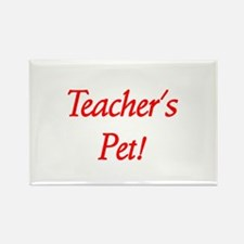 Teacher's Pet! Rectangle Magnet (10 pack)