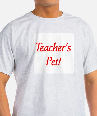 Teacher's Pet! Ash Grey T-Shirt