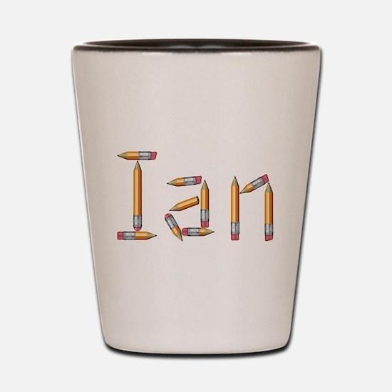 Ian Pencils Shot Glass