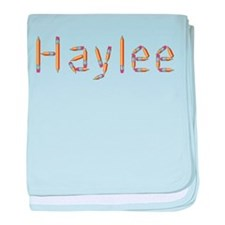 Haylee Pencils baby blanket