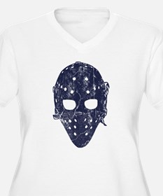 Vintage Hockey Goalie Mask (dark) T-Shirt