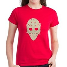 Vintage Hockey Goalie Mask (dark) Tee
