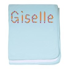 Giselle Pencils baby blanket