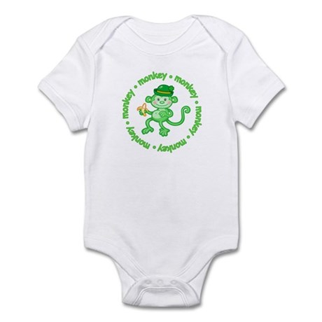 Green Monkey Infant Creeper
