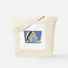 Blue Dopey Gorilla Tote Bag