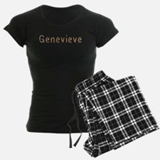 Genevieve Pencils Pajamas