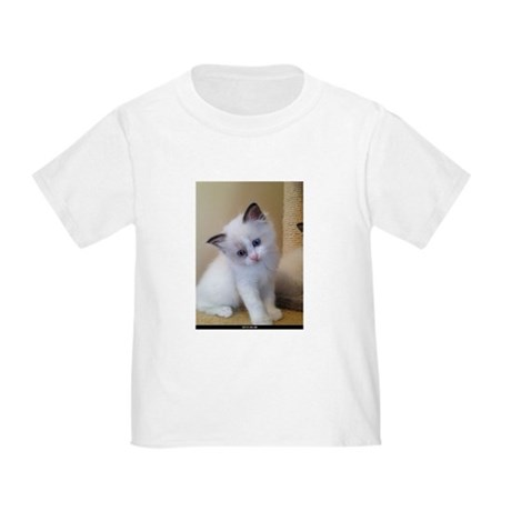 Ragalicious Ragdoll Kitten Toddler T-Shirt