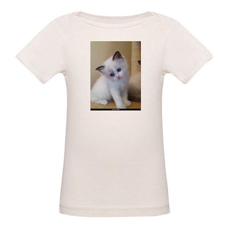 Ragalicious Ragdoll Kitten Organic Baby T-Shirt